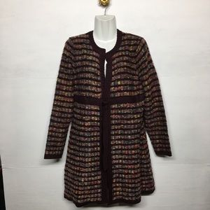 I.E Relaxed Tie Front Cardigan